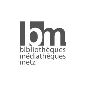 Logo bibliothèques médiathèques Metz