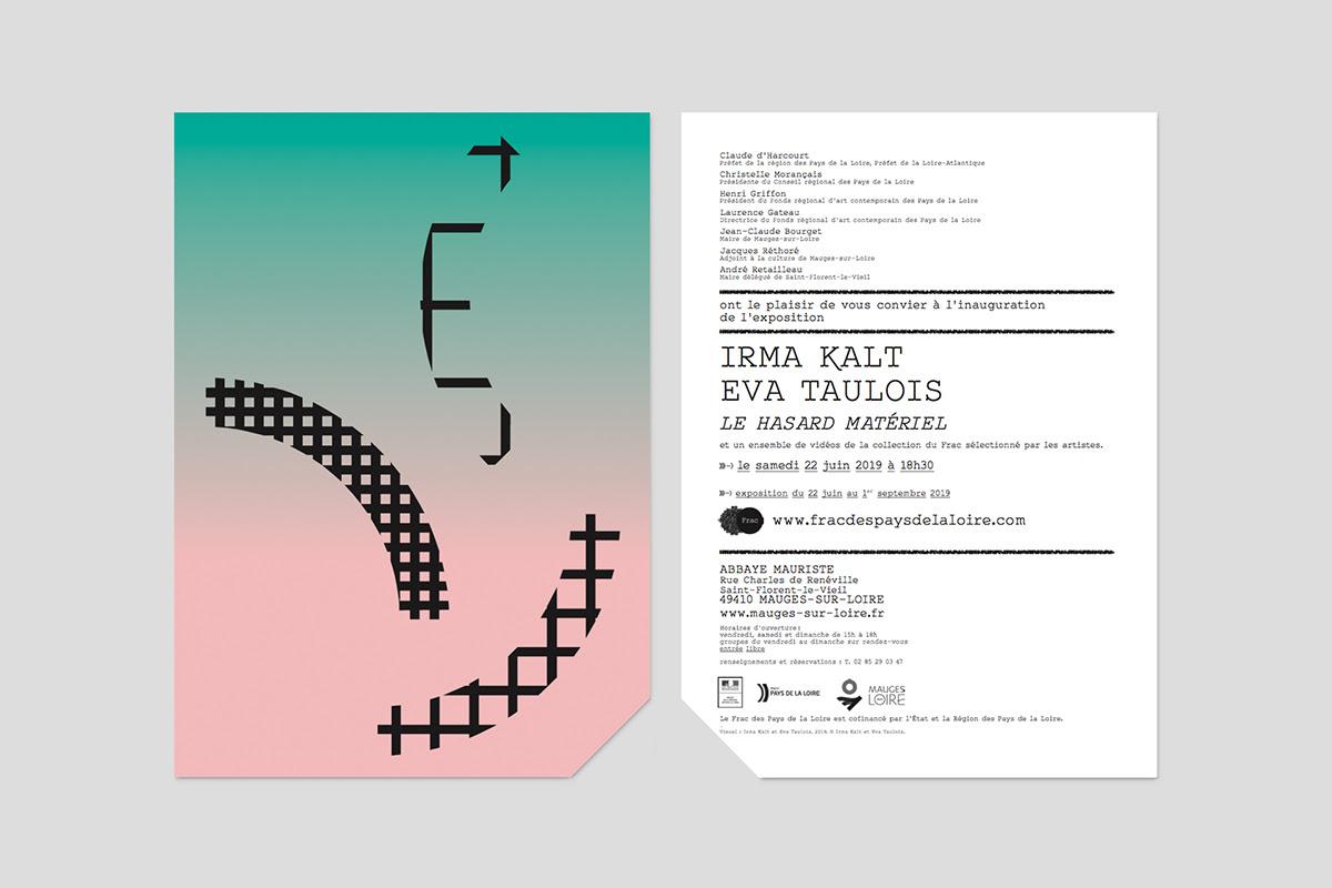 Image de l'exposition d'Irma Kalt et d'Eva Taulois