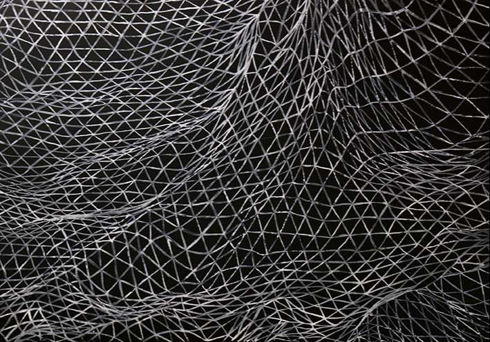 Luc Doerflinger - Paysage II, 2018 - Aquarelle et gouache sur papier 100 x 70cm.